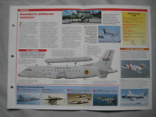 Aircraft of the World - Saab Tp 100 & 340 AEW&C