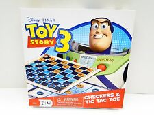 Disney Toy Story 3 Checkers & Tic Tac Toe Game