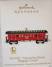 2012 Hallmark LIONEL Nutcracker Route Baggage Coach Christmas Train Die-Cast NEW