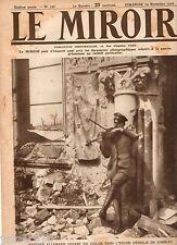 LE MIROIR n°156 ¤ 19/11/1916 ¤ OFFICIER ALLEMAND JOUE VIOLON EGLISE DE COMBLES