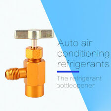 For R-134a R-134 AC Refrigerant Gold Can Tap Dispensing Acme Thread Valve 1/2""