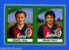 CALCIATORI PANINI 1987-88 - Figurina-Sticker n. 346 -VILLA#PECCI- BOLOGNA -Rec