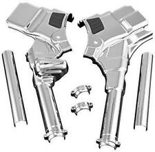 Harley-Davidson FLHR Road King 2008Deluxe Neck Covers Chrome by Kuryakyn