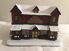 Norman Rockwell Christmas Village Collection The Post Printing Press