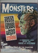 Famous Monsters #2 - Werewolf Of London - 1963 (Grade 2.5) WH