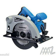1200W Circular Saw 185mm Skill Saw + Blade Building Power Tool