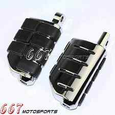 Chrome Motorcycle Footpeg Foot Pegs Footrest For Male Harley Davision Softail