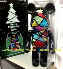 Medicom Be@rbrick 2016 Merry Christmas 1000% Stained Glass Xmas Tree Bearbrick