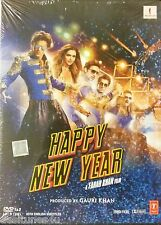 HAPPY NEW YEAR - OFFICIAL BOLLYWOOD 2 DISC DVD [SHAH RUKH KHAN]