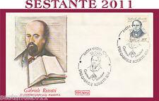ITALIA FDC ROMA CENTENARIO NASCITA GABRIELE ROSSETTI 1983 ANNULLO VASTO CH H361