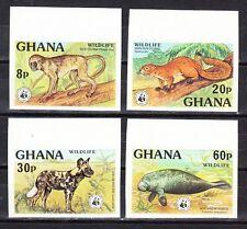 Ghana Scott 621-624 Mint NH imperf