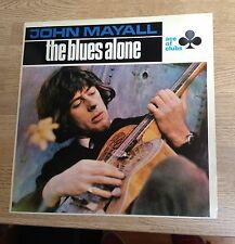 "LP John Mayall ""The blues alone"" blues rock réédition 70's EXC"