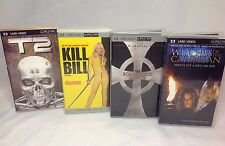 PSP UMD - Boondock Saints, Terminator T2, Kill Bill, Witches of Carribbean Lot