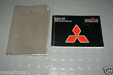 1994 Mitsubishi 3000GT 3000 GT Owners Manual - SET