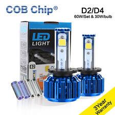 2016 Nuevo 60W 6000LM D2C D2S D2R D4S D4C  COB LED BOMBILLA KIT DE FARO