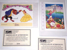 Disney Postage Stamps Beauty and the Beast  Belle & Beast Dancing St Vincent