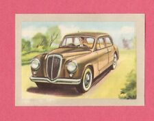 Lancia Appia 1954 Car Jacques Chocolate Card from Belgium #65
