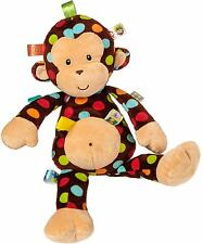 Taggies DAZZLE DOTS MONKEY SOFT TOY Plush Comfort Sleep Bedtime Toy Baby BN