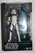 Star Wars The Black Series #01 Sandtrooper 6 inch Figuren 2014  RAR !