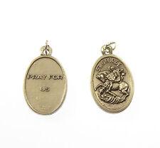 St. George argento medaglia ciondolo per rosari 2cm Cattolica San regalo