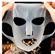 FASHION UNISEX JAPAN REUSABLE SILICONE MASKS MOISTURIZING WHITE FACE MASKS 6L