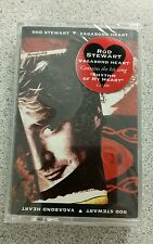 ROD STEWART VAGABOND HEART CASSETTE Warner Bros NEW STILL SEALED B303