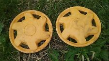 Poulan PR600 mower rear wheel hub cap set 407794X421
