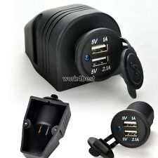 Jumeau Double Port 2 USB 5V Voiture Prise Adaptateur Chargeur pour iphone ipad