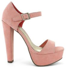 Platform Sandal 12 Open Toe*Ankle Strap*Pink Drag Queen Crossdresser High Heels