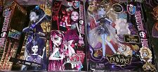 New Monster High Lot 3 Dolls Boo York Elle 13 Wishes Abbey Scarnival Draculaura