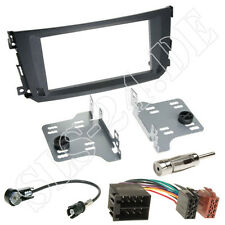 Smart ForTwo Facelift Doppel-DIN Autoradio Einbauset Radioblende Iso KFZ Adapter
