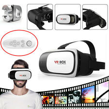 Upgraded VR Glasses Virtual Reality Headset VR BOX 2.0 Goggles 3D Glasses+Remote
