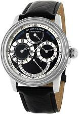 Stuhrling 283 33151 Saturnalia DT Automatic Dual Time Power Reserve Mens Watch