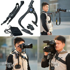 Camcorder Video DV DSLR SLR Camera Shoulder Mount Support Stabilizer Shockproof