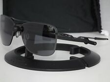 OAKLEY TAILHOOK AVIATOR SUNGLASSES OO4087-01 Satin Black / Grey TAIL HOOK