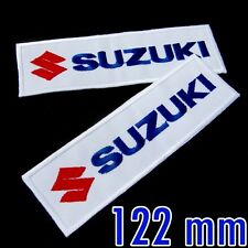 1 x Suzuki Advertising Racing Embroidered Iron On Patch MotoGP Motorcycle Biker