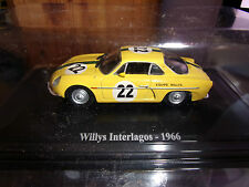 ALPINE WILLYS INTERLAGOS 1966 NEUVE SS BLISTER