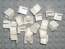 LEGO 20 White Panels Corner 1 x 1 x 1 NEW