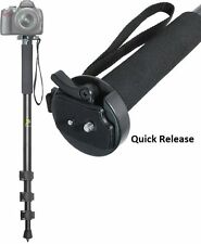 "72"" HEAVY DUTY MONOPOD WITH CASE FOR SAMSUNG HMX-H304 HMX-H300"