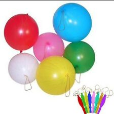 10x PUNCH BALLOONS birthday Party Bag Loot Fillers Piñata UK SELLER