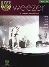 Bass Play-Along Volume 24 Weezer Guitar TAB Learn to Play Music Book & CD