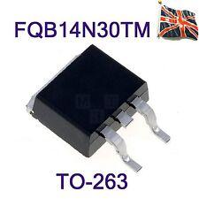 FQB14N30TM FDB14N30TM  FAIRCHILD 14N30  MOSFET, N, SMD, TO-263 UK Stock