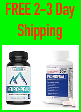 FREE SHIPPING— Brain Booster for Memory Focus & Energy: Profiderall & Neuro-Peak
