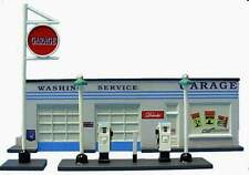 IMEX N SCALE GAS STATION RESIN BUILT-UP BUILDING