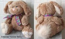 "Animal Adventure 8"" Plush Bunny Rabbit Light Brown Super Soft and Fluffy"