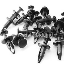 30x PUSH-TYPE WHEEL WELL MOULDING RETAINERS CLIPS 21077123 FOR GM SATURN