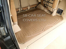 BMW X1 / X5 / X6 UNIVERSAL PVC RUBBER BOOT LINER - BEIGE