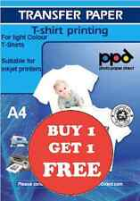 T Shirt Transfer Paper Iron On A4 X 50 Buy 1 Get 1 FREE