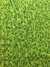 RPE40 Green Artificial Turf Lawn Grass Sports Field Cotton Fabric Quilt Fabric