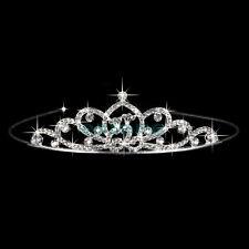 Couronne strass mariage Peigne diadème de mariée cristal Pageant Bandeau cheveux